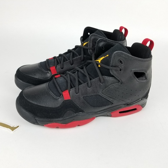 Jordan Flight Club '91 Black Red Size 6.5Y NWT